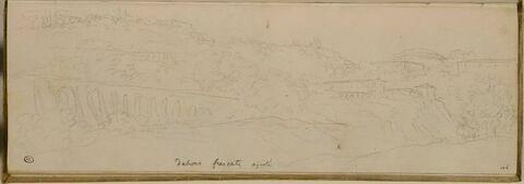 Vue des environs de Frascati