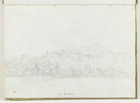 Vue de Terracina