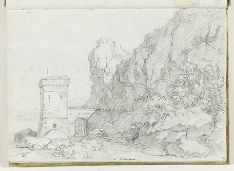 Paysage à Terracina