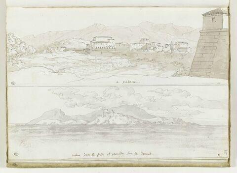 Vues de Palerme et de l'île d'Ischia