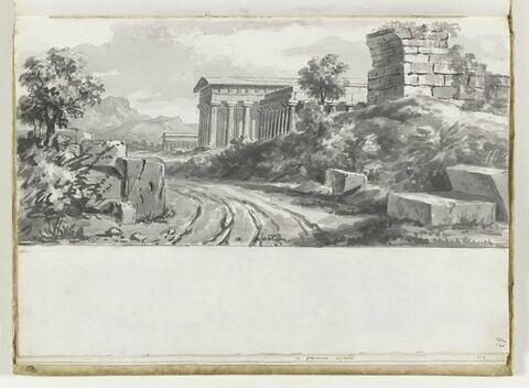 Vue de Paestum