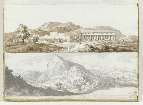 Vues de la Cava, et de Paestum