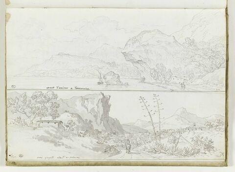 Vues des environs de Taormine et de Palerme