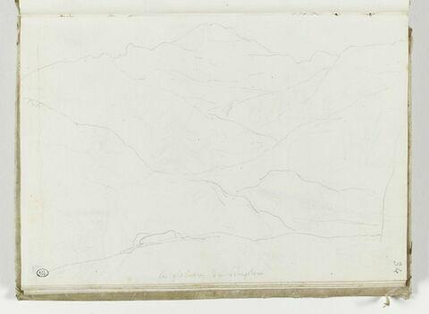 Paysage du col du Simplon