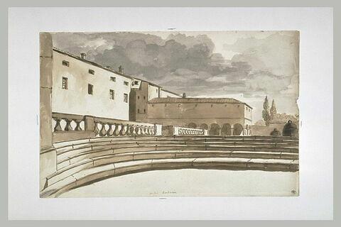 Vue du palais Barberini