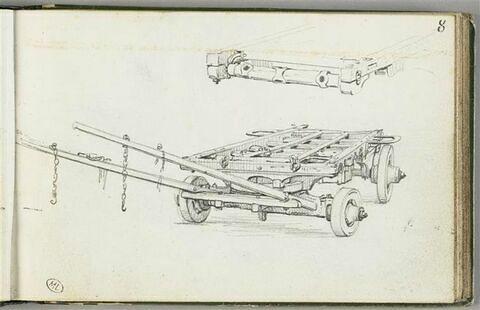Brancard mobile et étude de détail