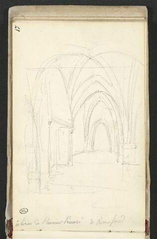 Intérieur de l'ancien Prieuré de Pierrefonds