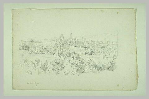 Vue de Rome depuis les jardins Farnèse