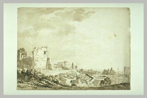 Vue de Rome prise du Palatin