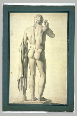 Copie d'une statue antique
