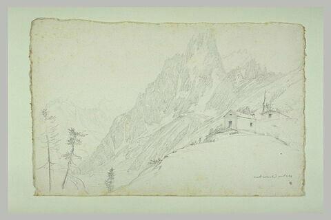 Montagne escarpée