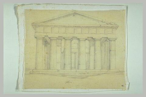 Temple de Neptune, à Paestum