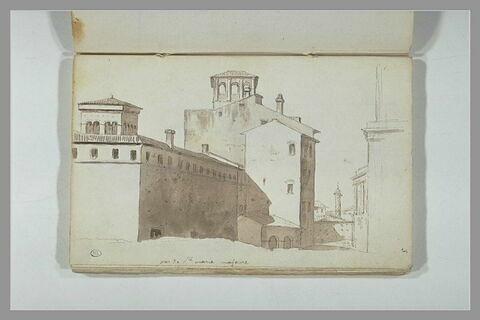 Vue de Rome, aux environs de Sainte-Marie-Majeure