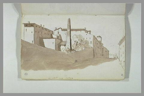 Vue de Rome, en allant aux Chartreux