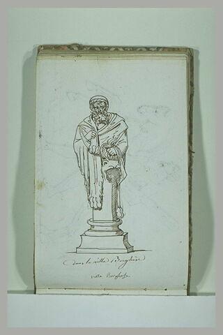 Statue de la villa Borghèse