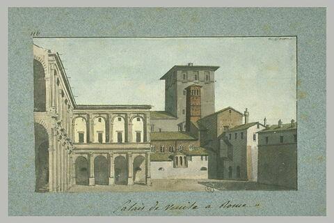 Palais de Venise, à Rome