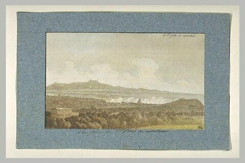 Vue de la campagne romaine