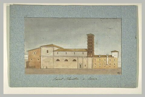 Eglise San Silvestro, à Rome