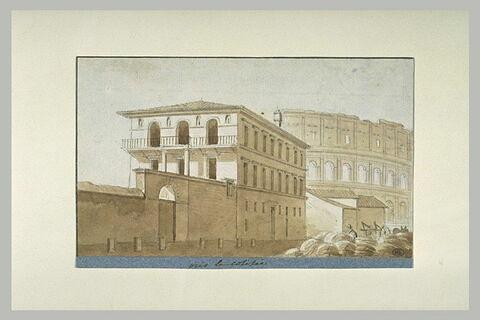 Maison auprès du Colisée, à Rome