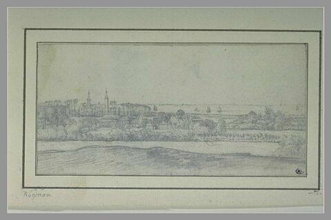 Vue du château de Heemstede, avec au fond le Haarlemmermeer