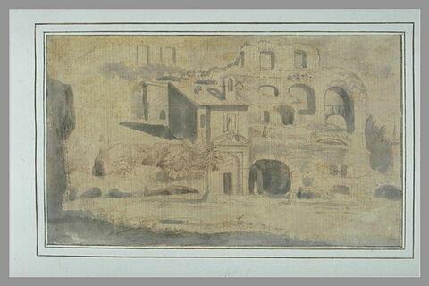 Vue de l'intérieur du Colisée