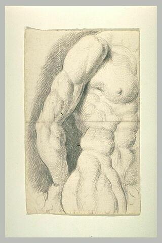 Etude d'un corps d'homme