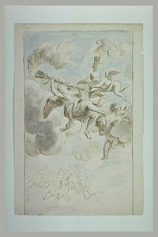 Décoration pour un plafond : allégorie de l'Hymen
