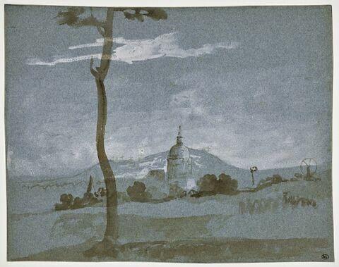 Le Dome des Invalides et la colline de Montmartre