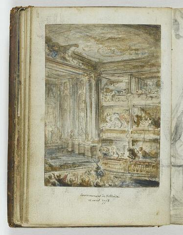 Couronnement de Voltaire au Théâtre-Français