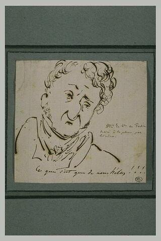 Autoportrait du comte de Forbin