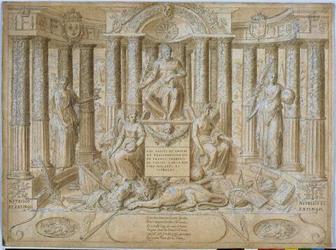 Le règne de François Ier, frontispice