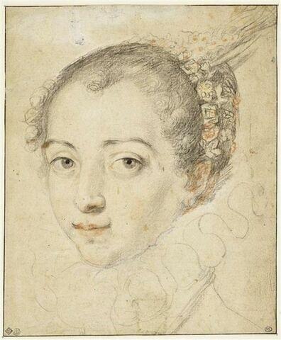 Portrait de jeune dame