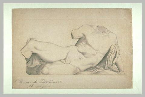 Etude de l'Illissus du Parthénon