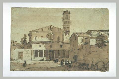 Eglise Sainte-Croix-de-Jérusalem, à Rome (?)