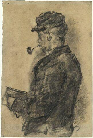 Portrait du docteur Gachet dans son atelier, Auvers 1873