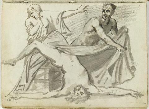 Pylade et Oreste tuant Égisthe