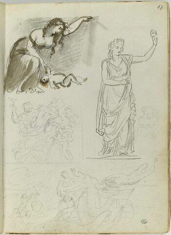 Cinq copies d'après les maîtres (et l'Antique ?)