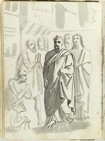 L'ombre de saint Pierre guérit des infirmes