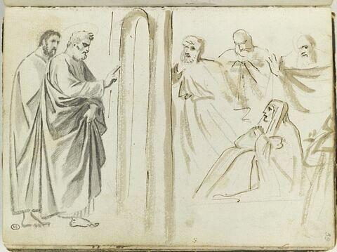 Saint Pierre ressuscitant Tabitha