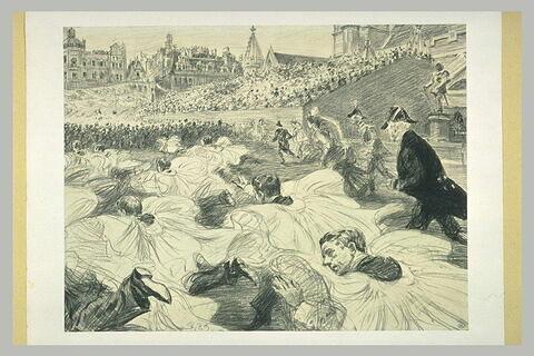 Au couronnement d'Edouard VII, Londres
