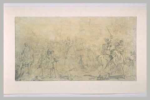 L'entrée d'Henri IV à Paris