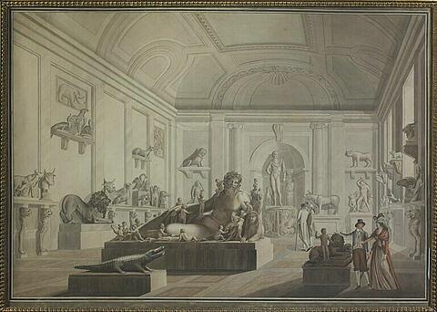 Création du Musée des Antiques au Louvre