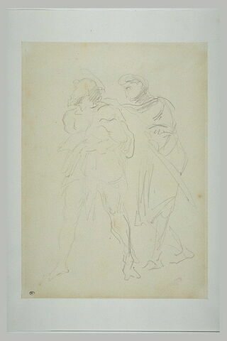 Saint Jean-Baptiste et un soldat