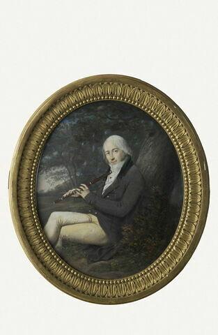 Portrait de Hugot l'Ainé, acteur