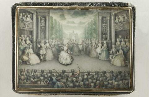 Le Ballet ou la représentation théâtrale à Lille.