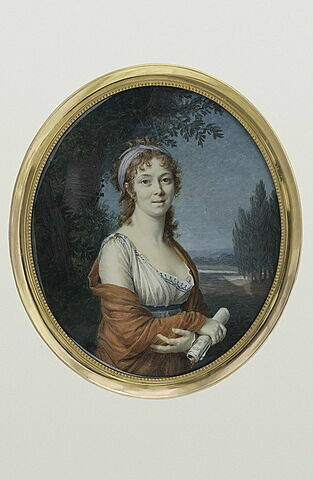 Portrait présumé de Mademoiselle Mars