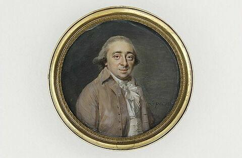 Portrait du peintre Michel Nicolas Bernard Lépicié (1735-1784)