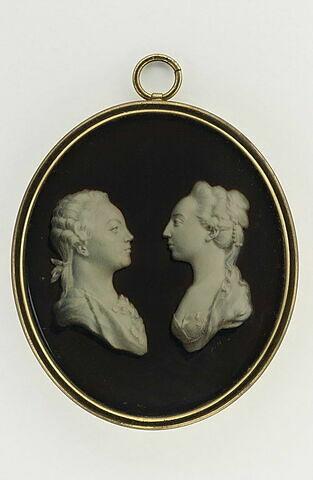 Portrait présumé du grand-duc Paul Petrovich et sa femme