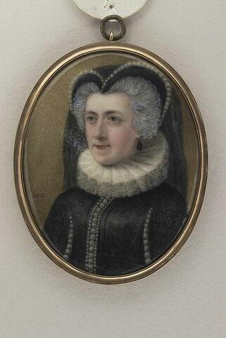 Portrait de Mrs F. F. en Marie Stuart