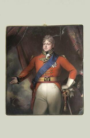 Portrait du roi George IV d'Angleterre